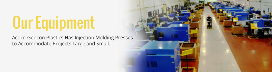 injection molding presses equipment