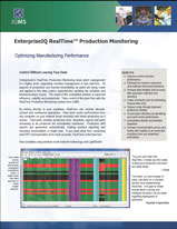 EnterpriseIQ's RealTime Production Management System Brochure